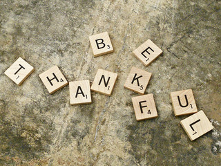 On Being Thankful